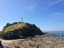 Башня на море Стоковая Фотография