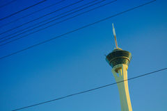 Башня на дне, Лас-Вегас стратосферы Стоковые Изображения RF