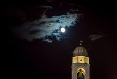Башня на ноче Дубровнике Стоковые Фото