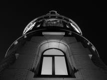 Башня на ноче стоковое изображение rf