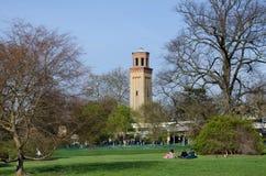 Башня на садах Kew, Лондон Стоковая Фотография RF