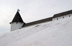 Башня на снеге Стоковое Изображение RF
