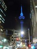 Башня неба, Окленд, NZ Стоковые Фотографии RF