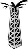 Башня 3 нефти иллюстрация вектора