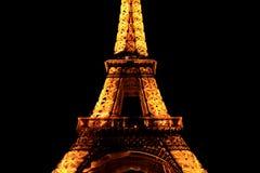 башня ночи eiffel Стоковая Фотография