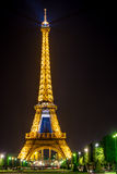 башня ночи eiffel Стоковые Фотографии RF