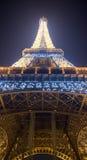 башня ночи eiffel Стоковое Изображение