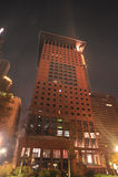 башня ночи frankfurt японии Стоковое Изображение RF