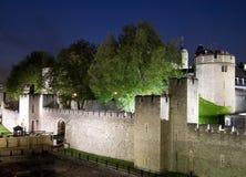 башня ночи london стоковое изображение rf