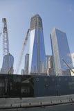 башня нул свободы земная Стоковая Фотография