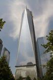 Башня 1 Нью-Йорк всемирного торгового центра Стоковые Фотографии RF