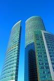 Башня обваловки в сложном городе Москвы стоковое изображение