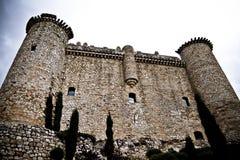 башня обороны s Испании torija замока стоковое фото rf