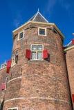Башня дома весить в Амстердаме Стоковая Фотография