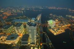 Башня ориентир ориентира, Иокогама Япония, Minato Mirai Стоковая Фотография RF