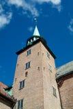 башня Осло akershus Стоковая Фотография