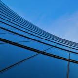 башня офиса фасада стеклянная Стоковые Изображения RF