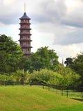 Башня пагоды в садах Kew Стоковые Фотографии RF