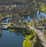 башня парка Олимпии munich олимпийская Стоковое Фото