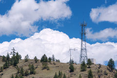 Башня переключателя стоковое фото rf