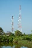 Башня 01 передачи микроволны Стоковая Фотография RF