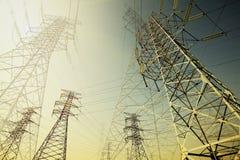 Башня передачи энергии Стоковые Фото