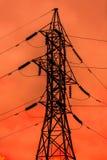 Башня передачи энергии стоковое изображение rf