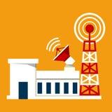 Башня передачи иллюстрация штока