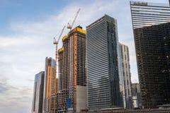 Башня перспективы под конструкцией Стоковое фото RF