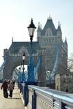 башня перспективы фонарика входа моста Стоковое Изображение