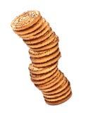 Башня печений Shortbreads Стоковые Изображения