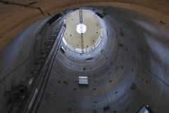 Башня Пизы внутрь Стоковое Изображение RF