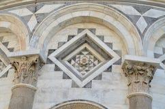 Башня Пизы деталей Стоковые Изображения RF