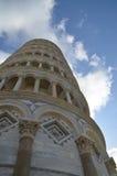 Башня Пизы деталей Стоковые Фотографии RF