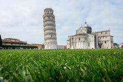 Башня Пизы, Италии Стоковая Фотография