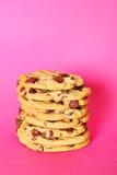 башня пинка печенья шоколада обломока Стоковое Изображение RF