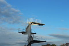 Башня подныривания Стоковое Изображение