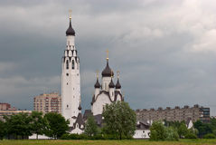 Башня православной церков церков. Стоковое фото RF