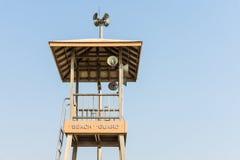 Башня предохранителя пляжа Стоковая Фотография RF