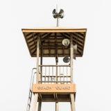 Башня предохранителя пляжа Стоковое Изображение