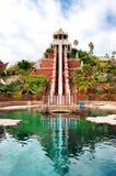 Башня привлекательности воды силы в Сиаме стоковое фото rf