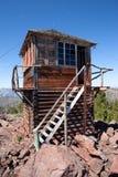 башня пункта бдительности пожара утки Стоковые Изображения RF