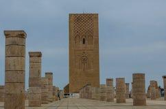 Башня Рабат Хасана, Марокко стоковая фотография
