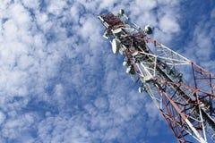 башня радиосвязей Стоковые Фото