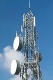башня радиосвязей стоковое изображение rf