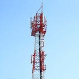 башня радиосвязей Стоковое фото RF