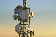 башня радиосвязей Стоковые Изображения