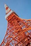 башня радиосвязей Стоковое Изображение