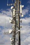 Башня радиосвязи в Европейском союзе Стоковое Фото