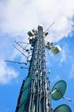 башня радиосвязи стоковое фото rf